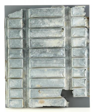 Lot #678 - STAR WARS: A NEW HOPE (1977) - David West Reynolds-Signed Ribbed Cantina Door Frame Section