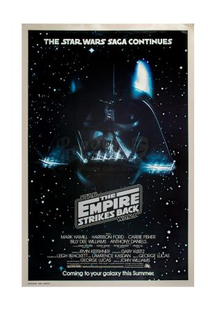 Lot #692 - STAR WARS: THE EMPIRE STRIKES BACK (1980) - Advance One-Sheet Poster