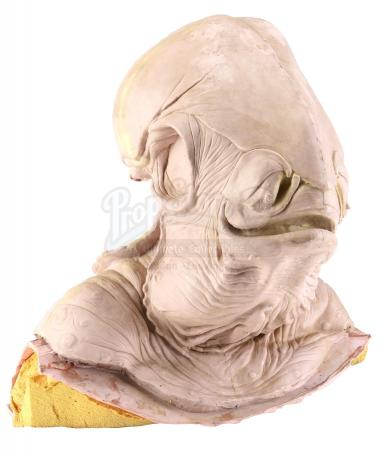 Lot #727 - STAR WARS: RETURN OF THE JEDI (1983) - Phil Tippett Collection: Admiral Ackbar (Tim Rose) Silicone Head Casting from Original Molds