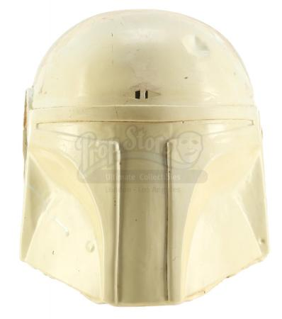 Lot #729 - STAR WARS: RETURN OF THE JEDI (1983) - Stunt Boba Fett (Jeremy Bulloch) Helmet Casting