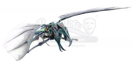 Lot #759 - STARSHIP TROOPERS (1997) - Phil Tippett Collection: Flying Hopper Bug Maquette
