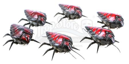 Lot #762 - STARSHIP TROOPERS (1997) - Phil Tippett Collection: Set of Six Chariot Bug Maquettes