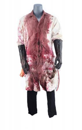 Lot #819 - TRICK (2019) - Bloodied Pig Face Costume