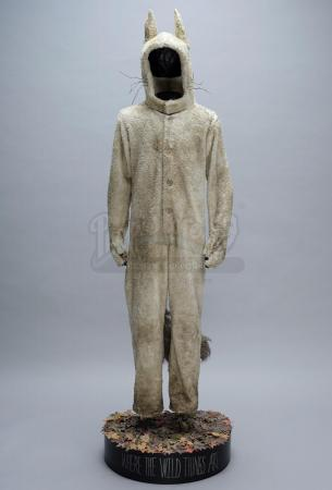 Lot #853 - WHERE THE WILD THINGS ARE (2009) - Max's (Max Records) Wolf Costume Display