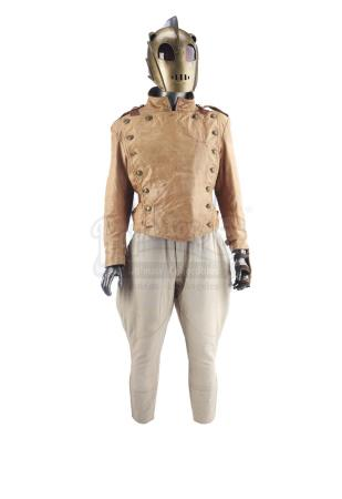 Lot #563 - ROCKETEER, THE (1991) - The Rocketeer's (Bill Campbell) Costume with Stunt Rocket-Pack and Replica Helmet from Original Molds