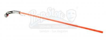 Lot #664 - STAR WARS: ATTACK OF THE CLONES (2002) - Count Dooku's (Christopher Lee) Dueling Lightsaber