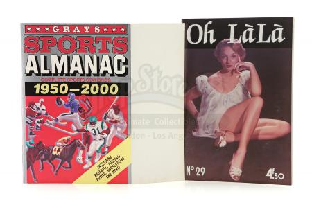 Lot #93 - BACK TO THE FUTURE PART II (1989) - Grays Sports Almanac Cover with Oh La La Magazine
