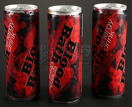 Freaks of Nature: Three Blood Bath Energy Drink Cans