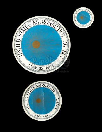 2001: A SPACE ODYSSEY (1968) - Set of Clavius Base Decals
