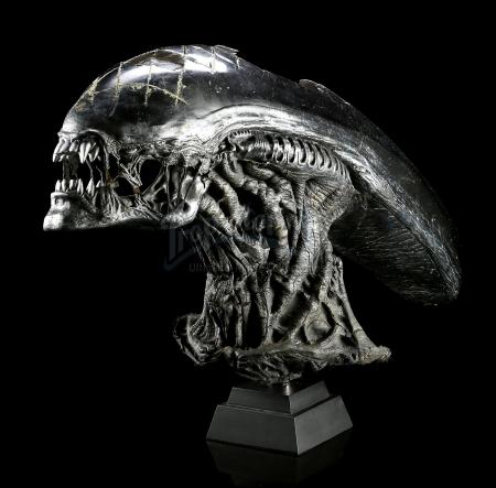 ALIEN VS. PREDATOR (2004) - Grid Alien (Tom Woodruff Jr.) Creature Mask