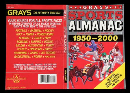 BACK TO THE FUTURE PART II (1989) - Grays Sports Almanac Cover