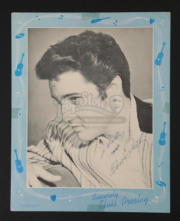 G.I. BLUES (1960) - Elvis Presley Autographed Photograph