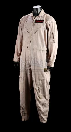 GHOSTBUSTERS 2 (1989) - Dr. Peter Venkman's (Bill Murray) Jumpsuit and Autographed Cast Photograph