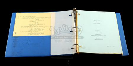 INDIANA JONES AND THE TEMPLE OF DOOM (1984) - Production-Used Script