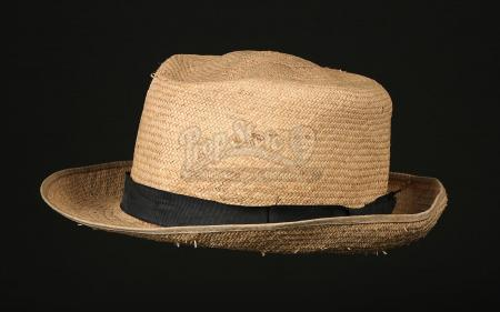 INDIANA JONES AND THE LAST CRUSADE (1989) - Marcus Brody's (Denholm Elliot) Hat