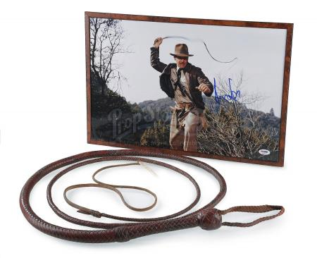 INDIANA JONES AND THE LAST CRUSADE (1989) - Indiana Jones' (Harrison Ford) Bullwhip