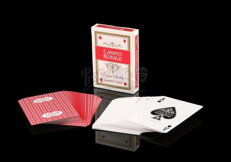 JAMES BOND: CASINO ROYALE (2006) - Casino Royale Playing Cards