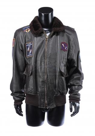Lot #7 - THE 6TH DAY (2000) - Adam Gibson's (Arnold Schwarzenegger) Leather Jacket