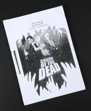SHAUN OF THE DEAD (2004) - Production-Used Script