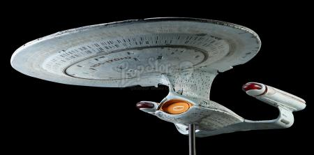 STAR TREK: THE NEXT GENERATION (1987-1994) - USS Enterprise NCC-1701-D 'Pyro' Model Miniature