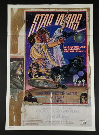 STAR WARS: A NEW HOPE (1977) - US One Sheet Poster – Style D