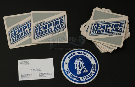 STAR WARS: THE EMPIRE STRIKES BACK (1980) - Philip Kohler's Business Card and Production Coasters