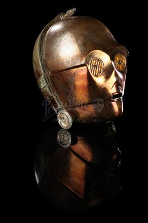 STAR WARS: THE EMPIRE STRIKES BACK (1980) - C-3PO Special Effects Head