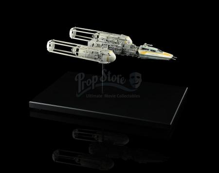 STAR WARS: RETURN OF THE JEDI (1983) - ILM Y-wing Model Miniature