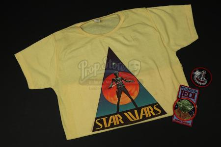 STAR WARS TRILOGY (1977-83) - Crew Shirt and Patches