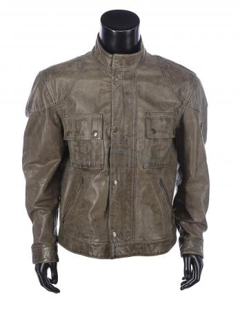 Lot #877 - WANTED (2008) - Wesley's (James McAvoy) Belstaff Leather Jacket