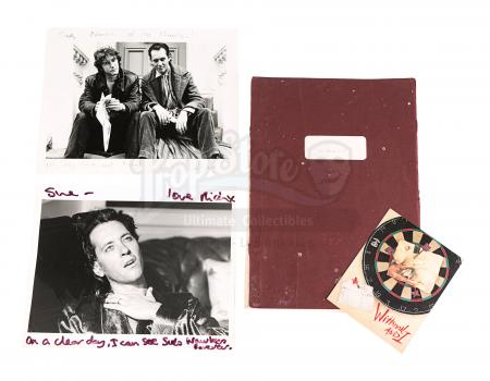 Lot #894 - WITHNAIL & I (1987) - Original Shooting Script and Two Autographed Promotional Stills
