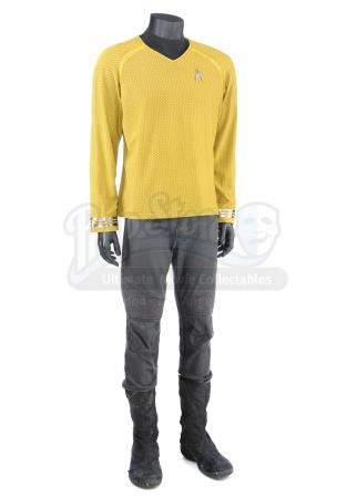 STAR TREK INTO DARKNESS (2013) - Captain Kirk's Enterprise Captain's Command Uniform