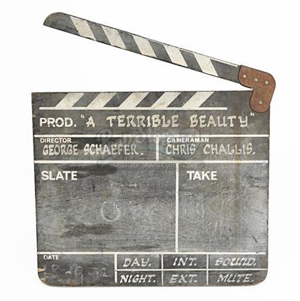 A TERRIBLE BEAUTY (1982) - Production-Used Clapperboard
