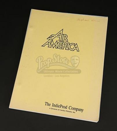 AIR AMERICA (1990) - Production-Used Script