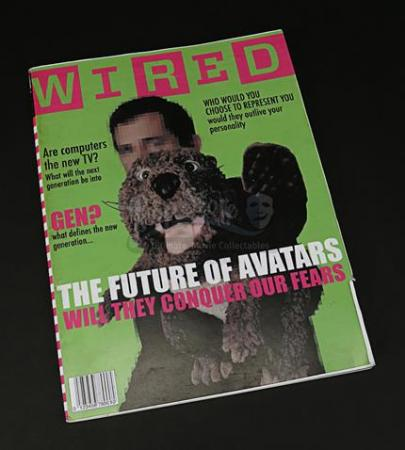 "BEAVER, THE (2011) - Prop ""Wired"" Magazine"