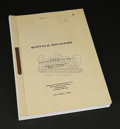 BUFFALO SOLDIERS (2001) - Production-Used Shooting Script