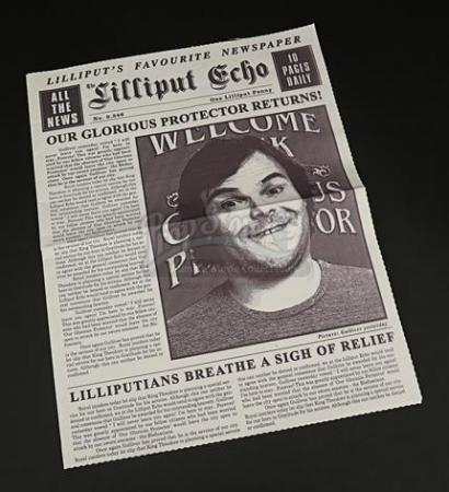 "GULLIVER'S TRAVELS (2010) - ""Lilliput Echo"" Newspaper"