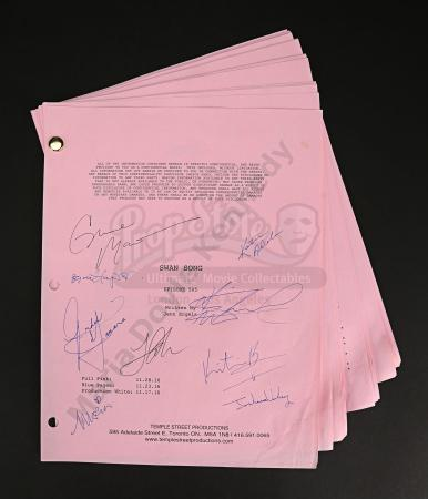 Maria Doyle Kennedy's Cast Autographed Production Script - Episode 5.05