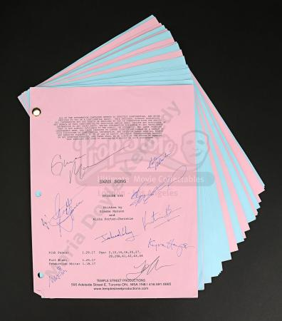 Maria Doyle Kennedy's Cast Autographed Production Script - Episode 5.08