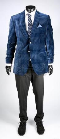 Maksim's (Gilbert Owuor) Blue Jacket Costume