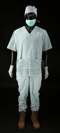 Duck's (Justin Theroux) Basement Surgery Costume