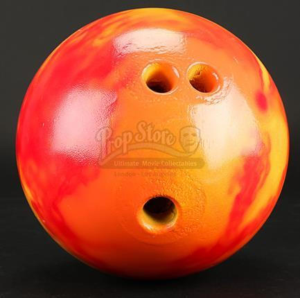 Duck's (Justin Theroux) Stunt Bowling Ball