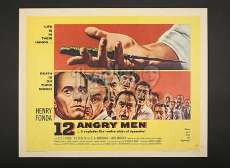 12 ANGRY MEN (1957) - US 1/2-Sheet Poster (1957)
