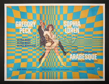 ARABESQUE (1966) - UK Quad Poster (1966)
