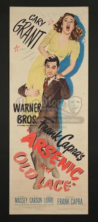 ARSENIC & OLD LACE (1944) - US Insert Poster (1944)