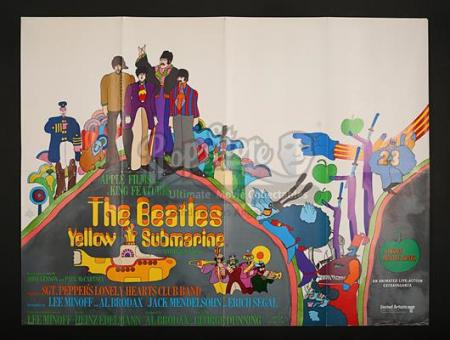 YELLOW SUBMARINE (1968) - UK Quad Poster (1968)