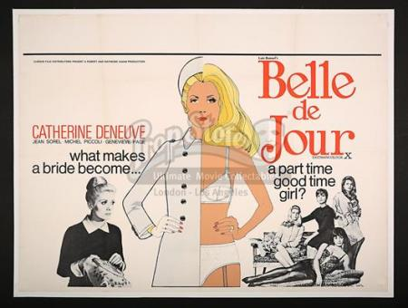BELLE DE JOUR (1967) - UK Quad Poster (1967)
