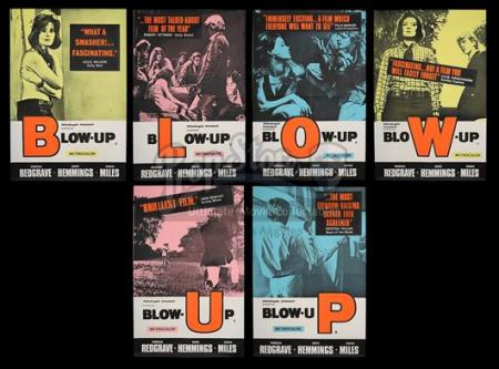 BLOW-UP (1966) - Set of Six UK Double-Crown Posters (1966)