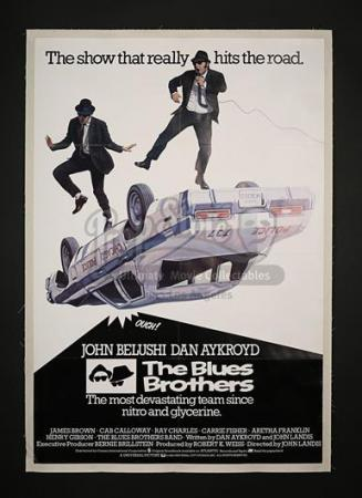 THE BLUE BROTHERS (1980) - UK 1-Sheet Poster (1980)