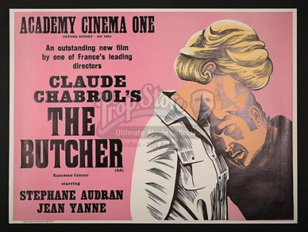 THE BUTCHER (1970) - UK Quad Poster (1972)
